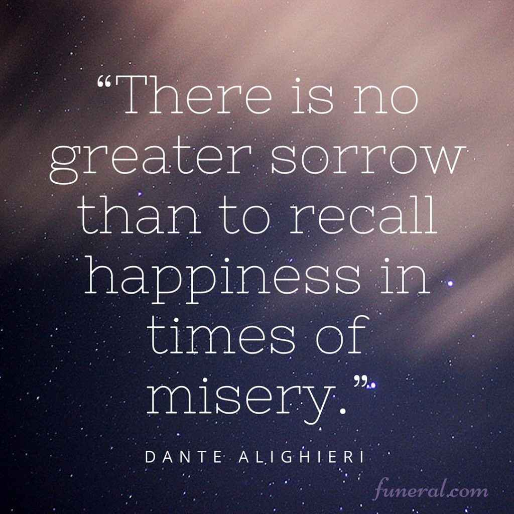 Funeral Quotes | 12 Quotes About Grief And Loss Funeral Com