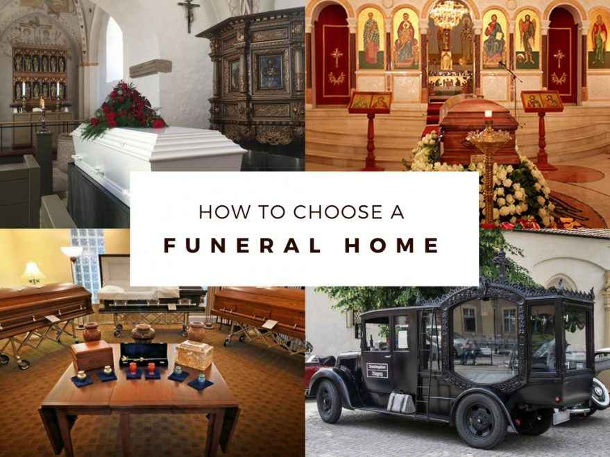 how to choose a funeral home funeral com
